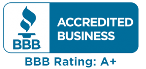 proud for being an Accredited Business with rating A+